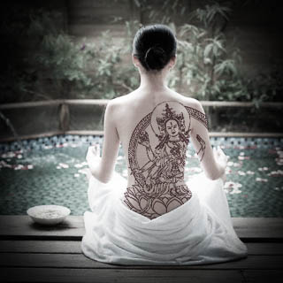 Buddhist tattoo-2