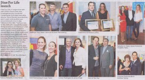 2013 Dine for Life Launch_ The West Australian_ Press Clipping